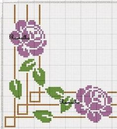Designs in Machine Embroidery - Stitch Swag - In the Hoop Clutch - Embroidery Design Guide Cross Stitch Bird, Cross Stitch Borders, Cross Stitch Flowers, Cross Stitch Designs, Cross Stitching, Cross Stitch Embroidery, Hand Embroidery, Cross Stitch Patterns, Pinterest Cross Stitch