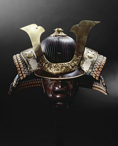Helmet and neck-guard | Myochin Nobuie | V&A Search the Collections