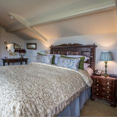 Classic Hotel Bedchamber In Thornbury Castle, Gloucestershire