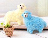 Pastel Sheep Twins Needle Felting Kit