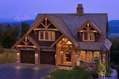 I love the exterior. Perfect style if we were to build in Alaska.