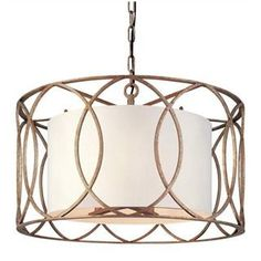 Check out the Troy Lighting F1285SG Sausalito 5 Light Pendant in Silver Gold priced at $722.00 at Homeclick.com.