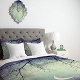 Shannon Clark Diamonds In The Sky Duvet Cover | DENY Designs Home Accessories