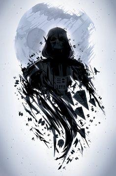 Darth Vader | Star Wars | #starwars #starwarsart #starwarsfanart #darthvader #jedi #sith