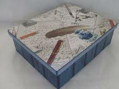 caixas de madeira decoradas - Pesquisa do Google