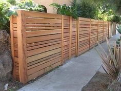 FUTURE FENCE DESIGN STYLE FOR DRIVEWAY SIDE. 35 Awesome Wooden Fence Ideas for Residential Homes