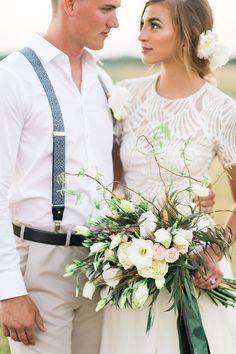 Bride in @watterswtoo Beilin wedding dress & Gracia Skirt | Blog | Brides of North Texas