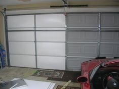 Living Stingy: Insulating Your Garage Door   For Cheap #GarageRemodeling
