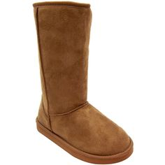 Qupid Oakley - Classic Faux Shearling Vegan Boots (camel suede PU, c – Alternative Outfitters Vegan Store