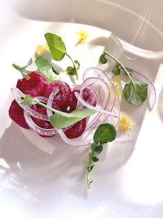 La comida @Healthouse hoy: salmón marinado en remolacha, yogurth y limón! #foodie #healthyliving #dietasaludable