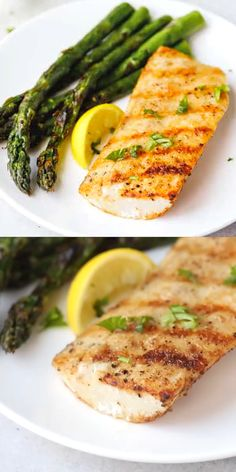 Easy Grilled Mahi Mahi Recipe – simple and delicious way to prepare white fish. Served with grilled asparagus or other vegetables of your choice. Grilled Fish Recipes, Baked Salmon Recipes, Grilling Recipes, Seafood Recipes, Cooking Recipes, Healthy Recipes, Recipes For Mahi Mahi, Fish Recipes For Two, Healthy White Fish Recipes