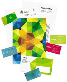 Paks corporate identity: Paks is one of the oldest travel agencies in Russia. The kaleidoscope in the logo expresses the unique experience of each trip. (Art Lebedev Studio)