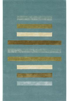 emma at home - Bars and Ovals Rug