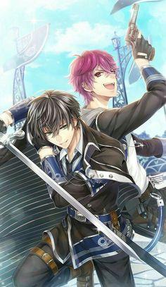 I love ray and fenrir' friendship so much cute anime boy, hot anime guys Cool Anime Guys, Handsome Anime Guys, Hot Anime Boy, Anime Love, Manga Art, Anime Art, Magic Anime, Anime Prince, Anime Friendship