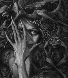 Froud Faerie and other creatures by Brian Froud
