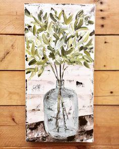 Trendy Painting Canvas Ideas Farmhouse - Photography İdeas,Photography Poses,Photography Nature, and Vintage Photography, Farmhouse Artwork, Farmhouse Paintings, Rustic Painting, Diy Painting, Painting Canvas, Spring Painting, Painting Abstract, Diy Canvas Art, Wall Canvas