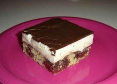 Višňový koláč s krémom Cheesecake Brownies, Tiramisu, Ethnic Recipes, Food, Basket, Essen, Meals, Tiramisu Cake, Yemek