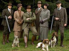 The men of Downton Abbey go commando