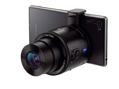The new Sony QX100 lens pros up cell phone pictures, but then — get this — the lens itself can be used as a camera.