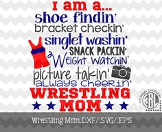 Hey, I found this really awesome Etsy listing at… Wrestling Quotes, Wrestling Mom, Wrestling Shirts, Wrestling Party, Wrestling Posters, Silhouette Projects, Silhouette Studio, Silhouette Cameo, Golf Quotes