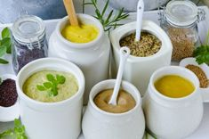 """Like many food products, there seems to be a variety of stories relative to the origination ofmustard. The name """"mustard"""" is derived from a Latin word """"must"""" which was an unfermented grape wine made potent and fiery with the addition of groundmustardseed."""