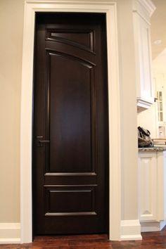 drk brown interior doors
