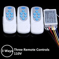 Need Remote Control Fan/Lights