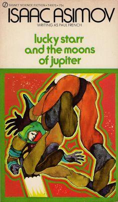 Bob Pepper Cover Art for Isaac Asimov's 'Lucky Starr' Series, 1971 – 1972