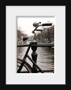 Bike art, vintage bicycle, Amsterdam print, travel photogaphy, urban art, still life photography, gifts for men, 5x7 (13x18) NEW. $18.00, via Etsy.
