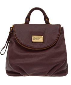 Marc by Marc Jacobs Burgundy Classic Q Mariska Backpack | Bags by Marc by Marc Jacobs | Liberty.co.uk