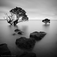 Black and white landscape photography by Ross Ipenburg