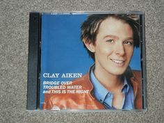 CLAY AIKEN: Bridge Over Troubled Water/This Is The Night [Single](CD,Music,Rock  #TeenPop