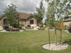 gravel landscaping ideas for the front yard | pictures of landscaping ideas for front yard