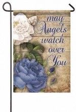 Flag-Garden-May Angels Watch Over You (13 x 18)