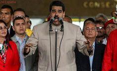 """Maduro tilda a Rajoy de """"cobarde"""" y a González de """"drogado"""""""