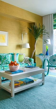 Eclectic Living Room With Unique Decor And Gorgeous Hues Design Scott Sanders