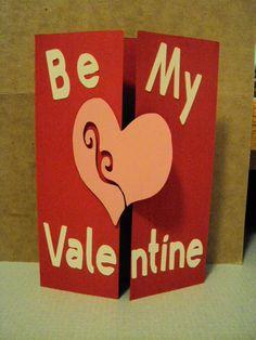 Cricut Valentine's Day card
