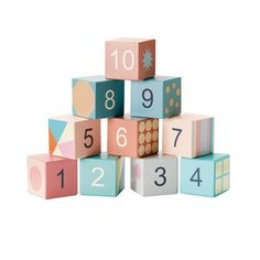 16 ideas for wood toys logo wooden blocks Baby Building Blocks, Kids Blocks, Wood Projects For Kids, Kids Wood, Toys Logo, Wooden Numbers, Stacking Blocks, Wooden Blocks, Wood Toys
