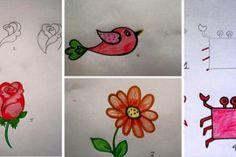 Kreslení s dětmi krok za krokem
