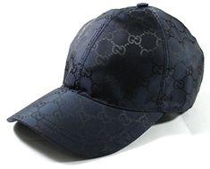 7eecb50aa50 Gucci GG Nylon Signature Web Stripe Baseball Cap