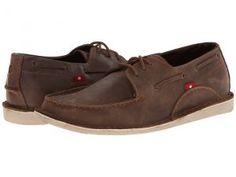 Oliberte Lamayo (Brown Yellow Pullup) Men's Shoes
