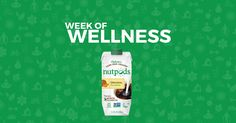 nutpods is participating in the Week of Wellness!