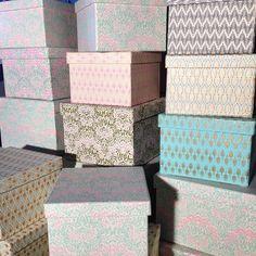 Underbara pasteller! Box från 89kr. Finns i butik när vi öppnar efter sommaren #roombutiken