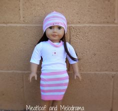 no sew american girl outfit from a sock