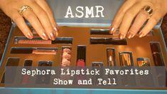 ASMR ~ Sephora Favourites Lipstick Show and Tell ~ Whispered