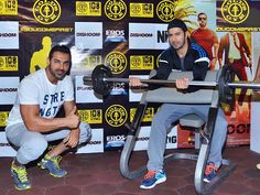 Actors Varun Dhawan and John Abraham are coming up with more and more out-of-the-box ideas to promote their upcoming release 'Dishoom'. Recently,