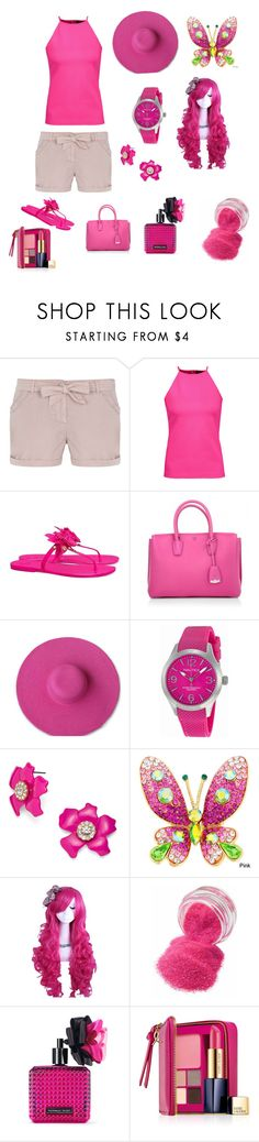 """Created in the Polyvore iPhone app. http://www.polyvore.com/iOS"" by maria-jesus-da-silva ❤ liked on Polyvore featuring Dorothy Perkins, Raoul, Tory Burch, MCM, Nautica, BaubleBar, Victoria's Secret and Estée Lauder"