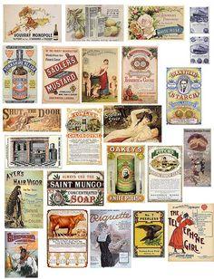 Vintage Ads 5 by PaperScraps, via Flickr