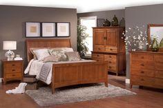 San Juan Mission Style Solid Oak Mission Bedroom Set   Amish ...