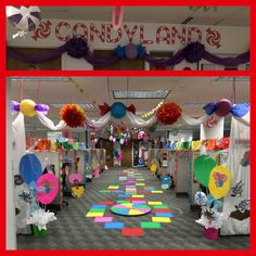 ideas for your christmas holiday theme party by my big day event planning in colorado https - Candyland Christmas Decorations